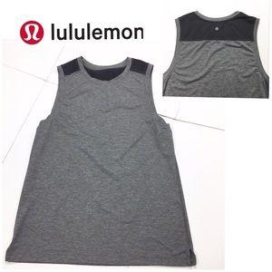 Lululemon Tank Top Charcoal Gray